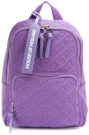 embroidered logo backpack