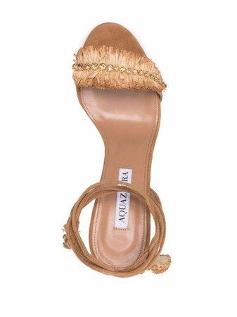 Aquazzura Isla 90mm Sandals - Farfetch