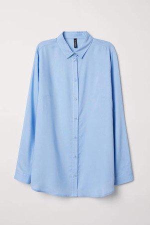 Viscose Shirt - Blue