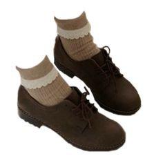 dark cottagecore shoes