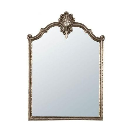 Antique Gold Metal Framed Mirror - Homesdirect 365 UK