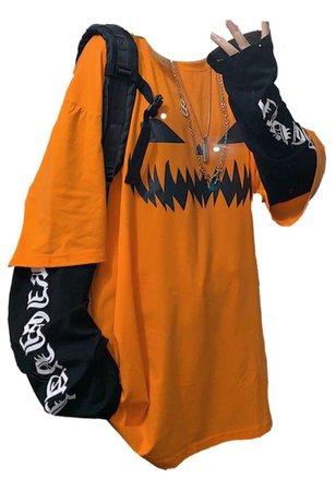oversized halloween tshirt