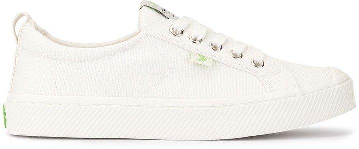 OCA Low Off White Canvas Sneaker