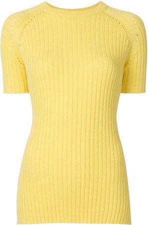 Billie ribbed-knit top