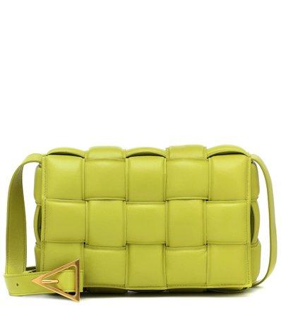 Padded Cassette Leather Shoulder Bag - Bottega Veneta | Mytheresa