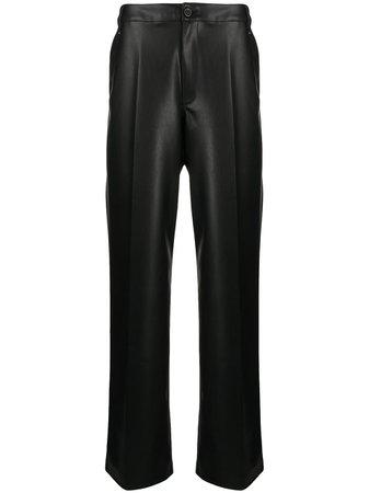 Rick Owens DRKSHDW high-rise Wide Leg Trousers - Farfetch
