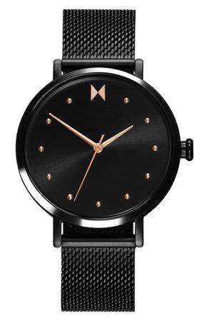 MVMT Dot Mesh Strap Watch, 36mm