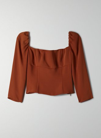 Wilfred CABO BLOUSE | Aritzia US