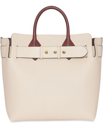 The Medium Tri-Tone Leather Belt Bag