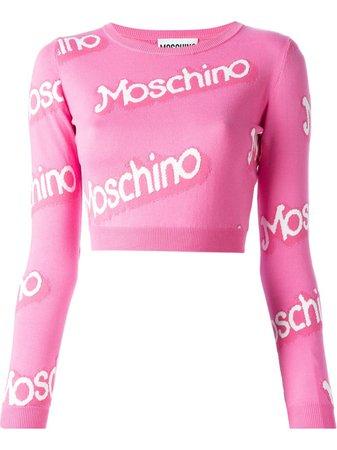 moshino barbie sweater