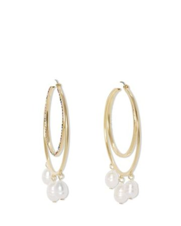 Sole Society Large Hoop Earrings | Sole Society Shoes, Bags and Accessories gold
