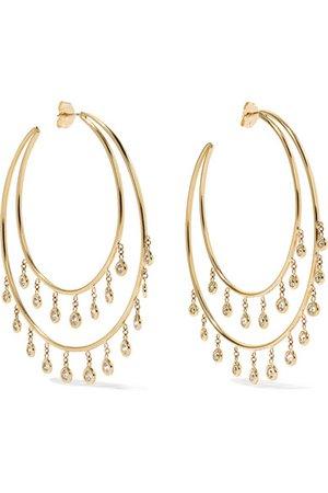 Jacquie Aiche | 14-karat gold diamond earrings | NET-A-PORTER.COM