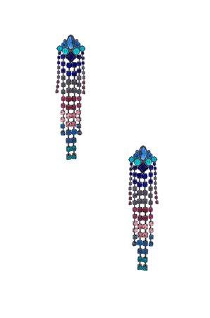 Gemma Crystal Fringe Earrings