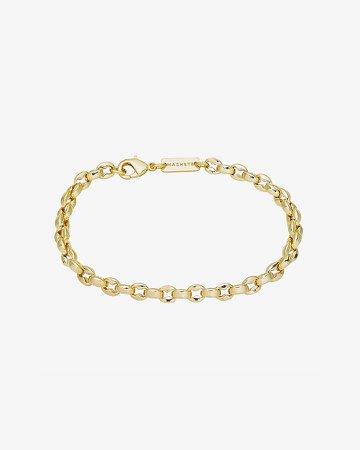 Machete Gold Nautical Bead Bracelet