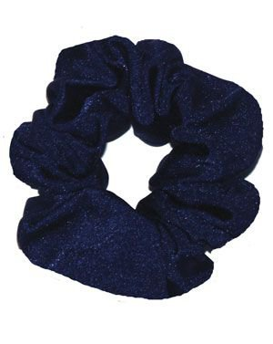 navy blue scrunchie