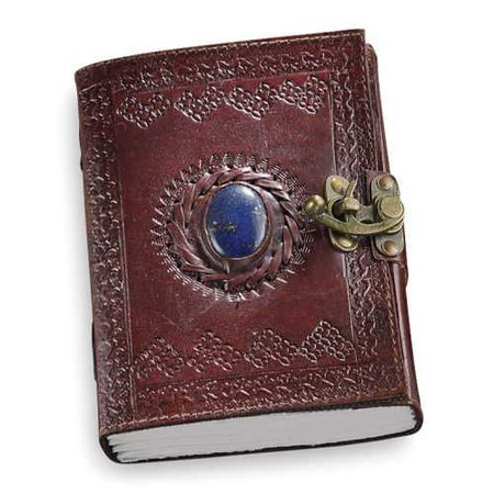 Brown Leather Pencil-Pouch Journal - Women's Romantic & Fantasy Inspired Fashions