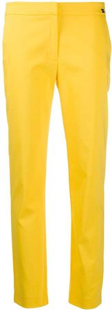 Be Blumarine Low-Waist Tapered Trousers