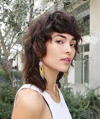 curly mullet woman png - Google Search