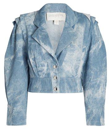 Divine Heritage Tie-Dye Denim Jacket   INTERMIX®