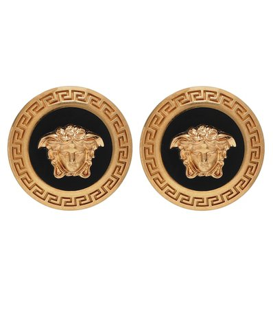 Logo Earrings | Versace - Mytheresa