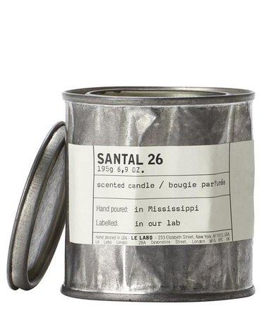 Santal 26 Vintage Candle 195g | Liberty London