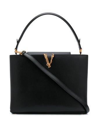 Versace Virtus Square Handbag - Farfetch