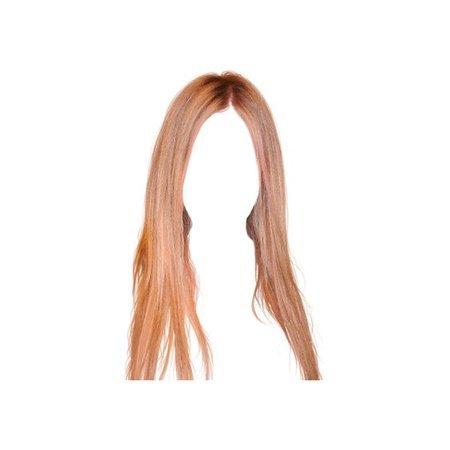 auburn hair png
