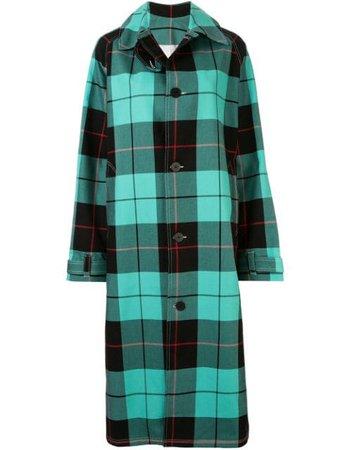 Charles Jeffrey Loverboy Tartan Oversized Coat - Farfetch