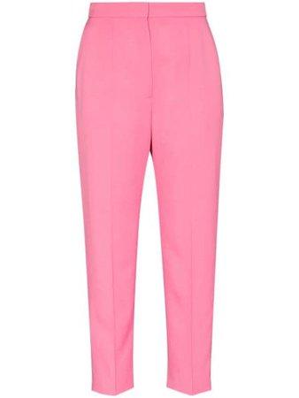 Alexander McQueen wool tailored trousers pink 649909QJAAC - Farfetch