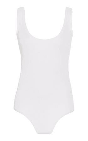Ribbed Jersey Bodysuit by Michael Kors Collection | Moda Operandi