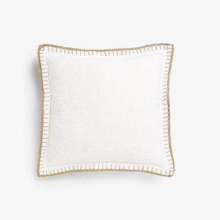 Zara Home White Cushion