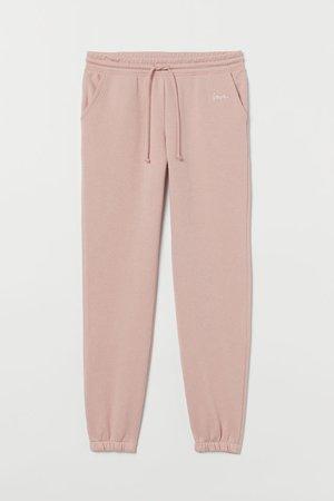 Sweatpants - Light pink - Ladies   H&M US