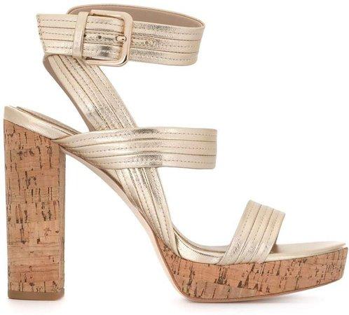Isla cork heel sandals