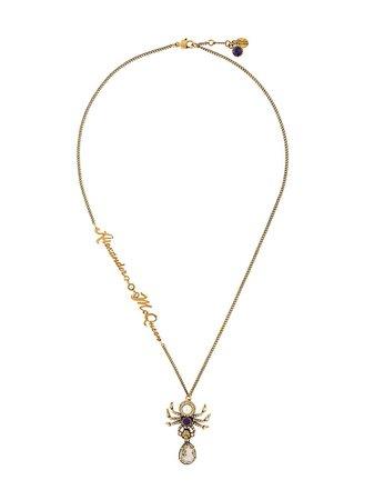 Alexander McQueen Spider Necklace - Farfetch