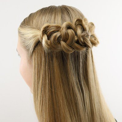 toddler fancy hair style - Google Search