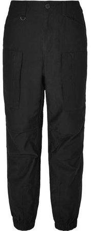 Flight Cotton-twill Cargo Pants - Black