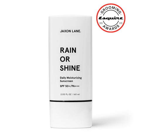 Rain Or Shine - Daily Moisturizing Sunscreen   Skincare product for men – JAXON LANE