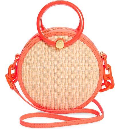 Ted Baker London Agneti Woven Circle Crossbody Bag   Nordstrom