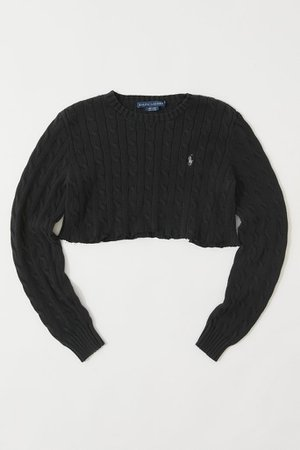 Urban Renewal Vintage Cropped Sweater | Urban Outfitters
