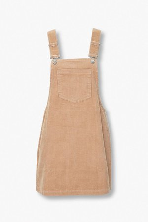 Corduroy Overall Dress | Forever 21