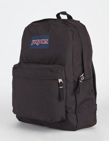 JANSPORT SuperBreak Backpack - BLACK - 860100100 | Tillys