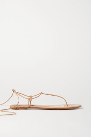 Leather Sandals - Neutral