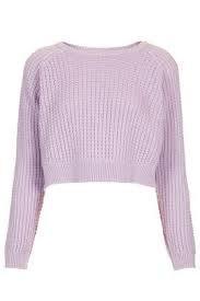 pastel purple crop top