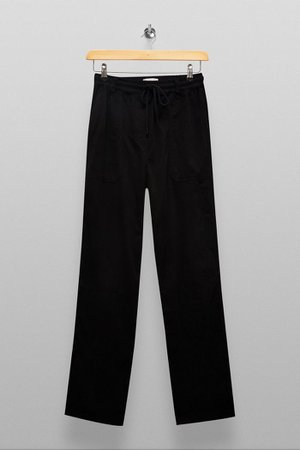 TALL Black Slouch Trousers | Topshop