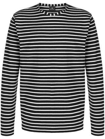 PS Paul Smith Striped long-sleeve T-shirt - Farfetch