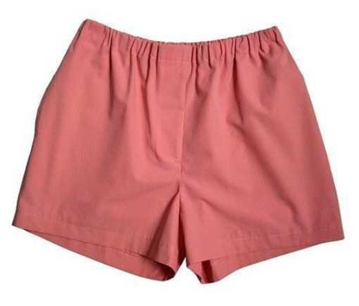 Salmon-Colored Shorts - @byepolyvore PNG Collection