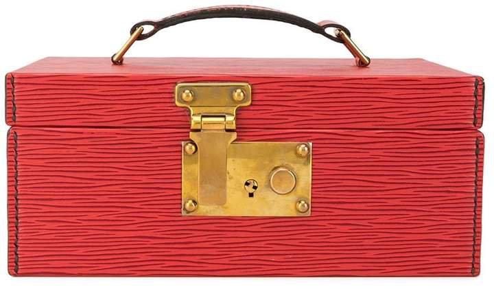 Pre-Owned Boite a Tout box tote