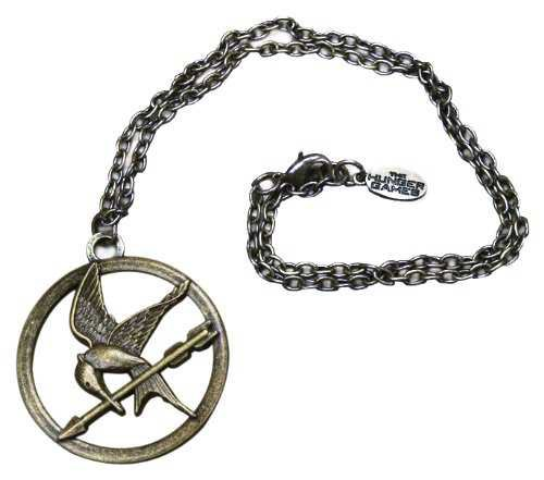 "Amazon.com: NECA The Hunger Games Movie Necklace Single Chain ""Mocking Jay"": Toys & Games"