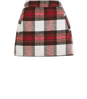 cameo-rose-red-check-mini-skirt.jpg (353×401)
