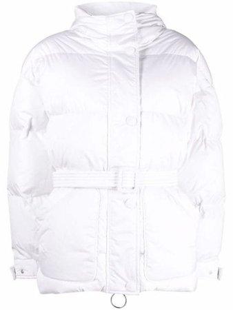 Ienki Ienki Michlin belted puffer jacket - FARFETCH
